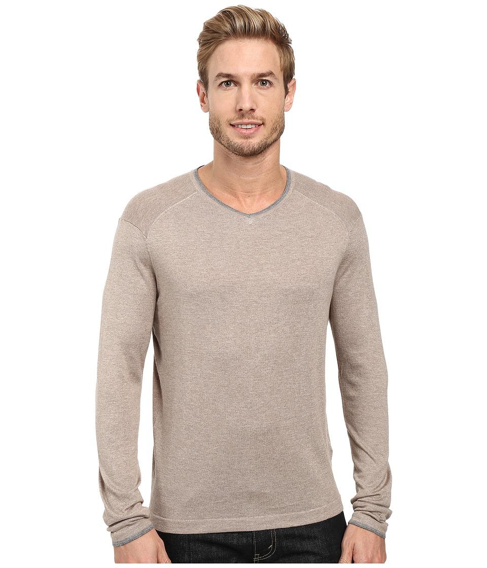 Agave Denim - Alma Long Sleeve Supima Modal Fine Gauge (Fungi) Men's Long Sleeve Pullover