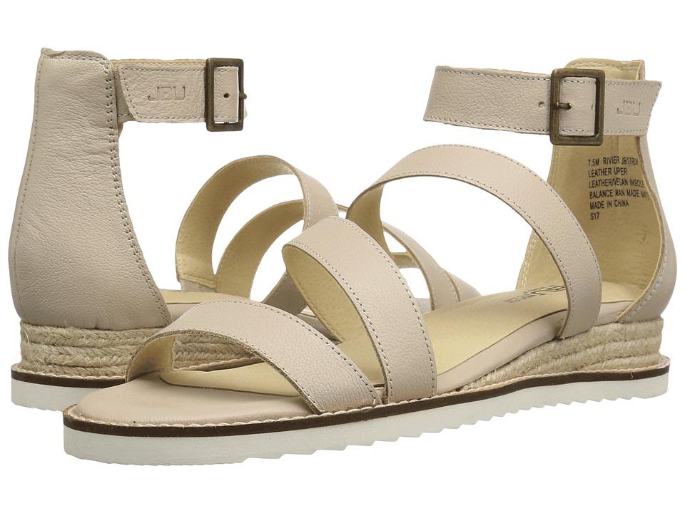 JBU - Riviera (Nude Solid) Women's Wedge Shoes