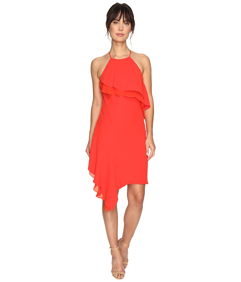 Laundry by Shelli Segal Cocktail Dress (Fiery Red) Women