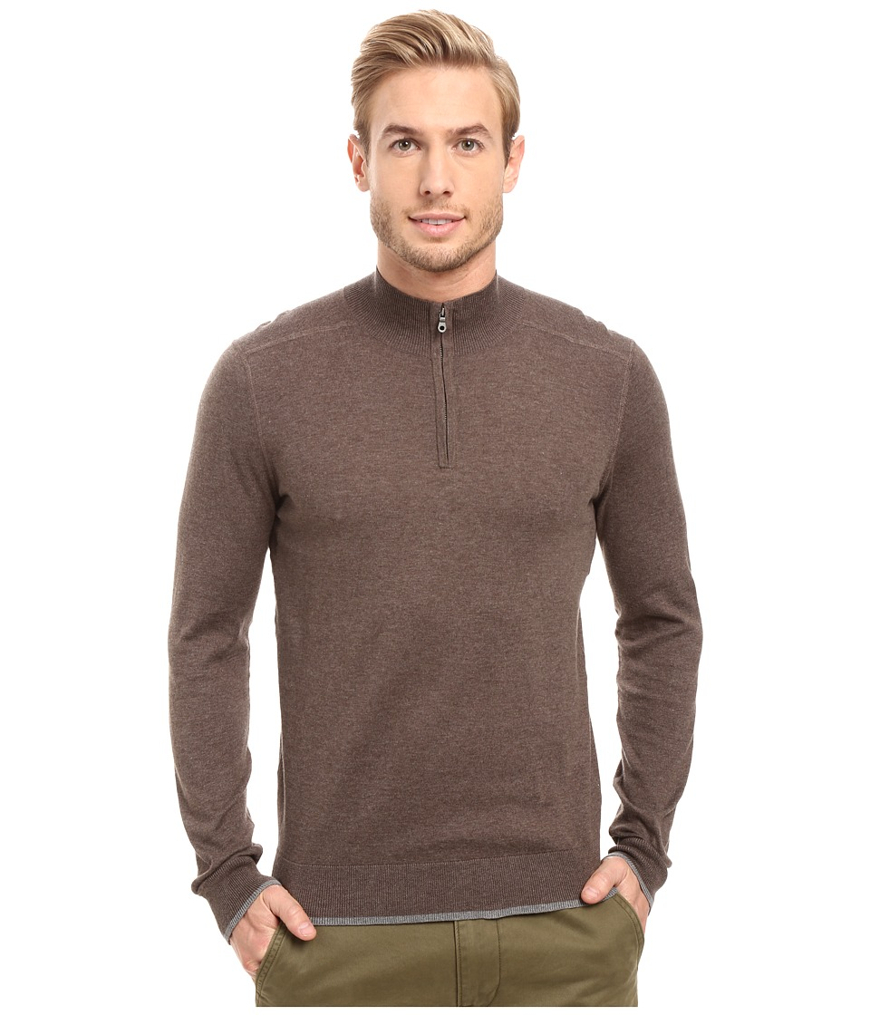 Agave Denim Graftin Long Sleeve Supima 14GG (Cub) Men's Long Sleeve Pullover