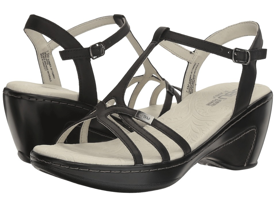 JBU - Summer (Black) Women's Wedge Shoes
