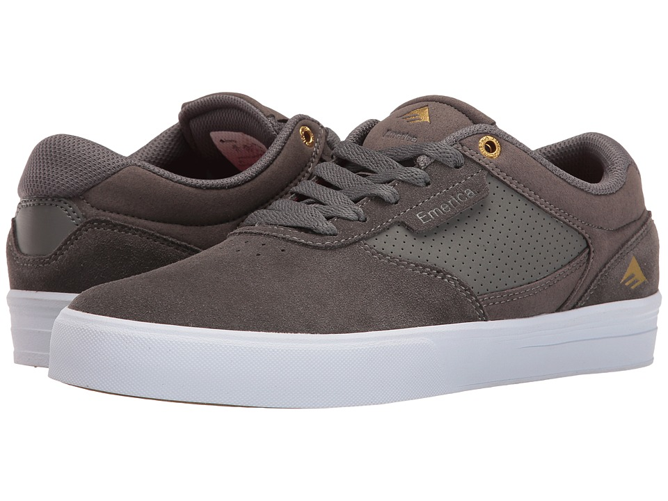 Emerica - Empire G6 (Grey/White) Men's Shoes