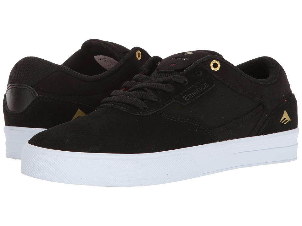 Emerica - Empire G6 (Black/White) Men's Shoes