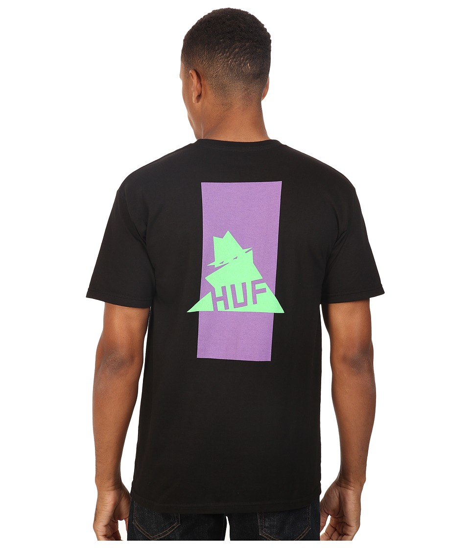 HUF - Thieves Tee (Black) Men's T Shirt