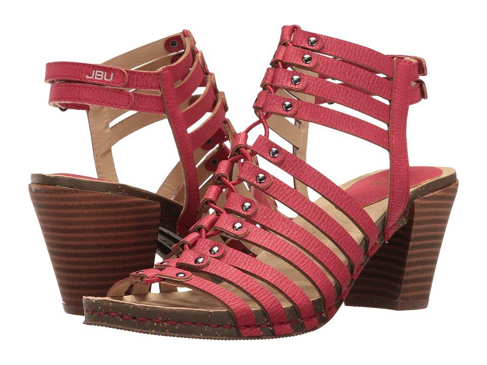 JBU Sugar Encore (Red) High Heels