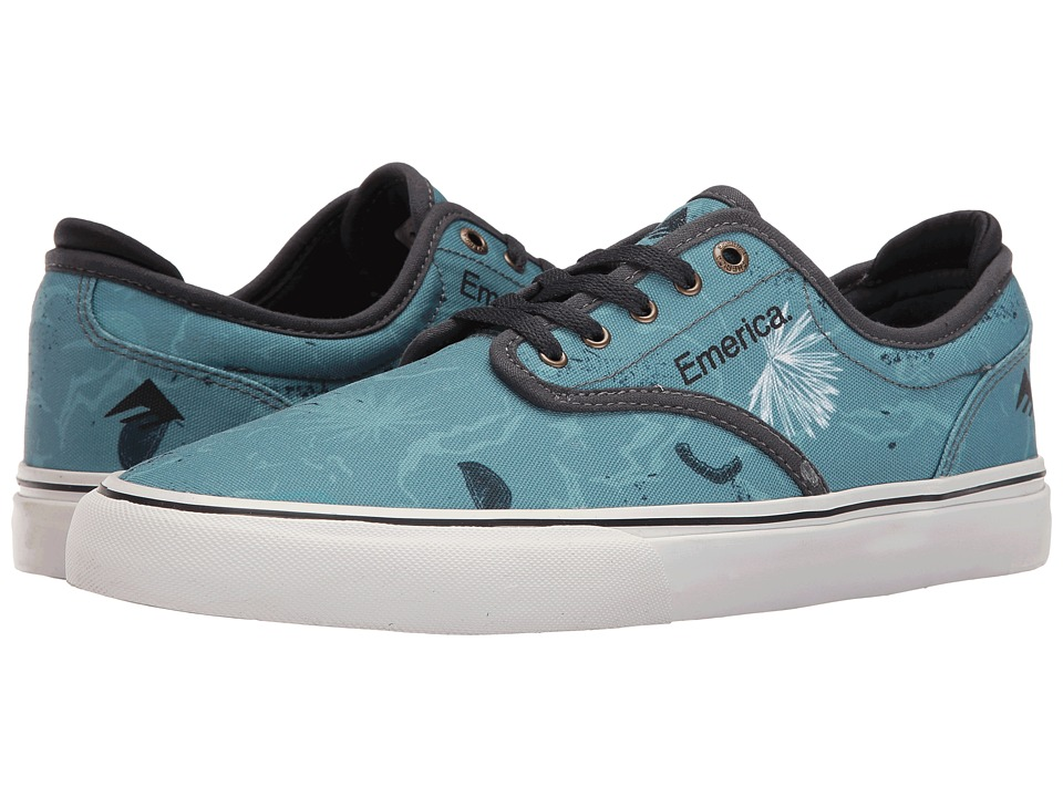 Emerica - Wino G6 (Blue/White/Navy) Men's Skate Shoes