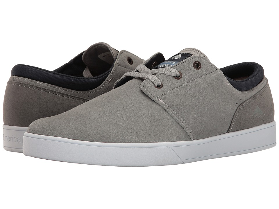 Emerica - The Figueroa (Grey) Men's Skate Shoes