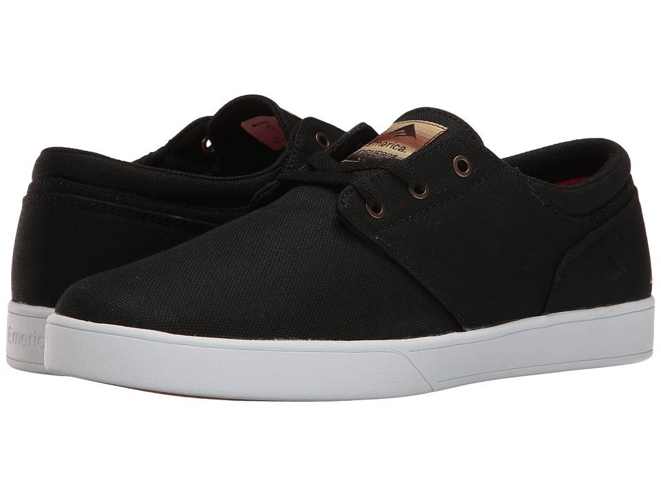 Emerica - The Figueroa (Black/Brown) Men's Skate Shoes