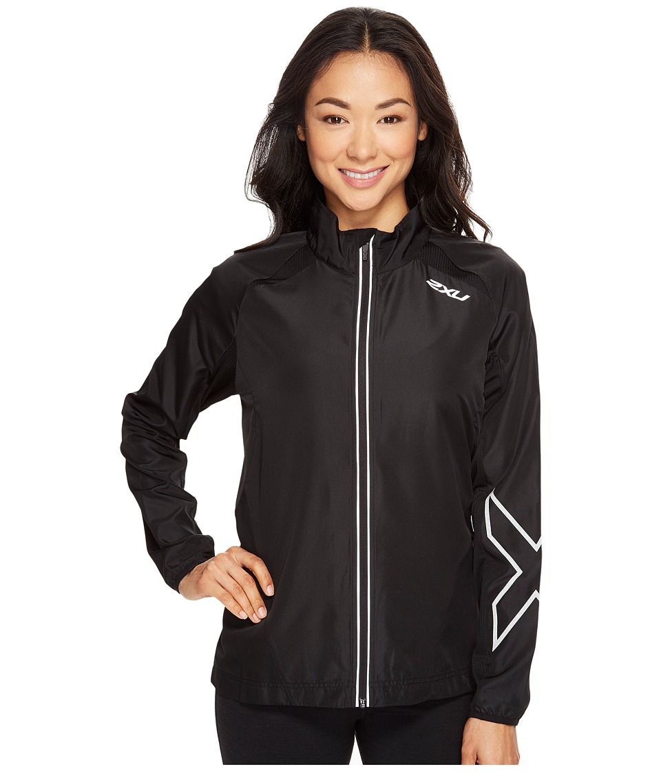 2XU - X-Vent Jacket (Black/Black) Women's Coat