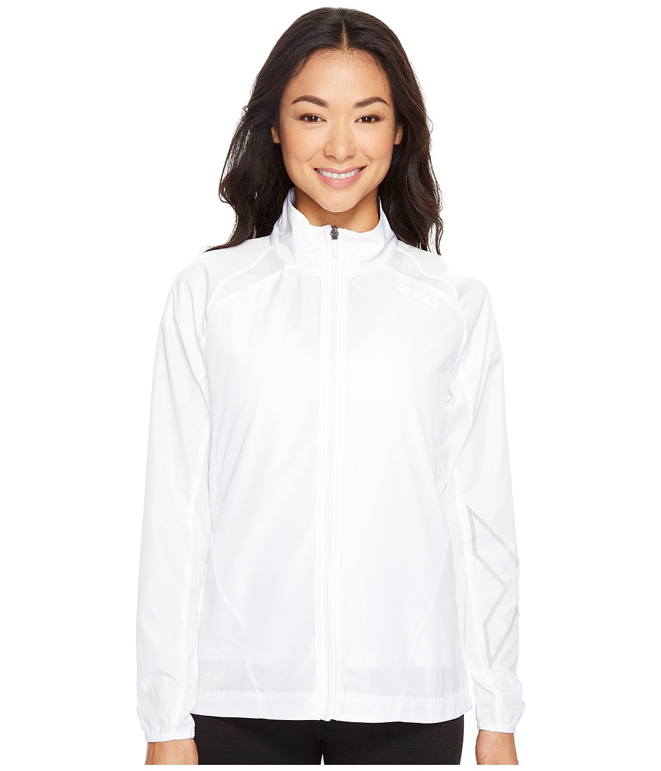 2XU - X-Vent Jacket (White/White) Women's Coat