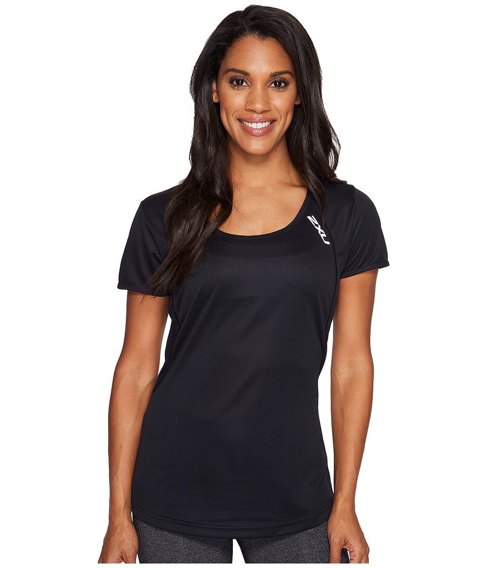 2XU - X-Vent Tee (Black/Silver) Women's T Shirt