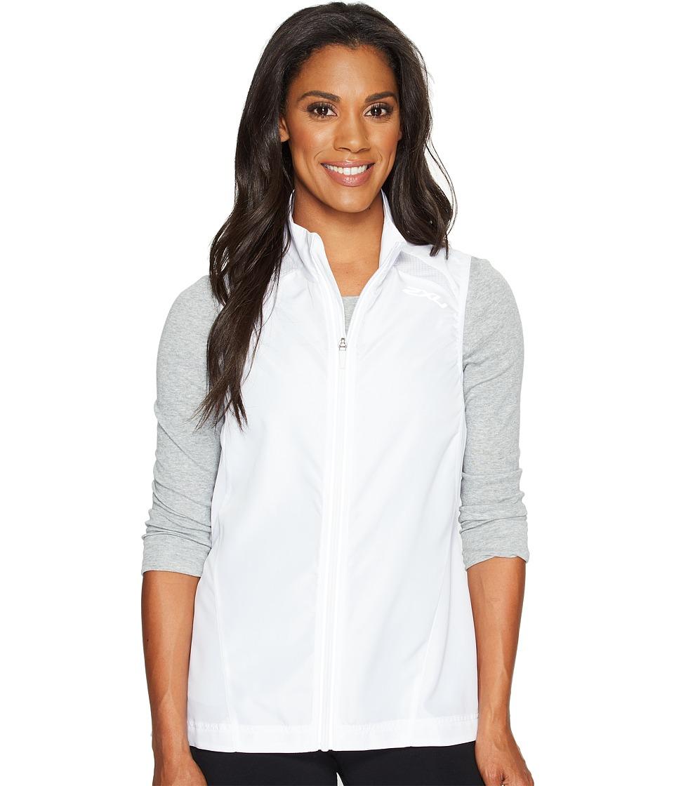 2XU - X-Vent Vest (White/White) Women's Vest