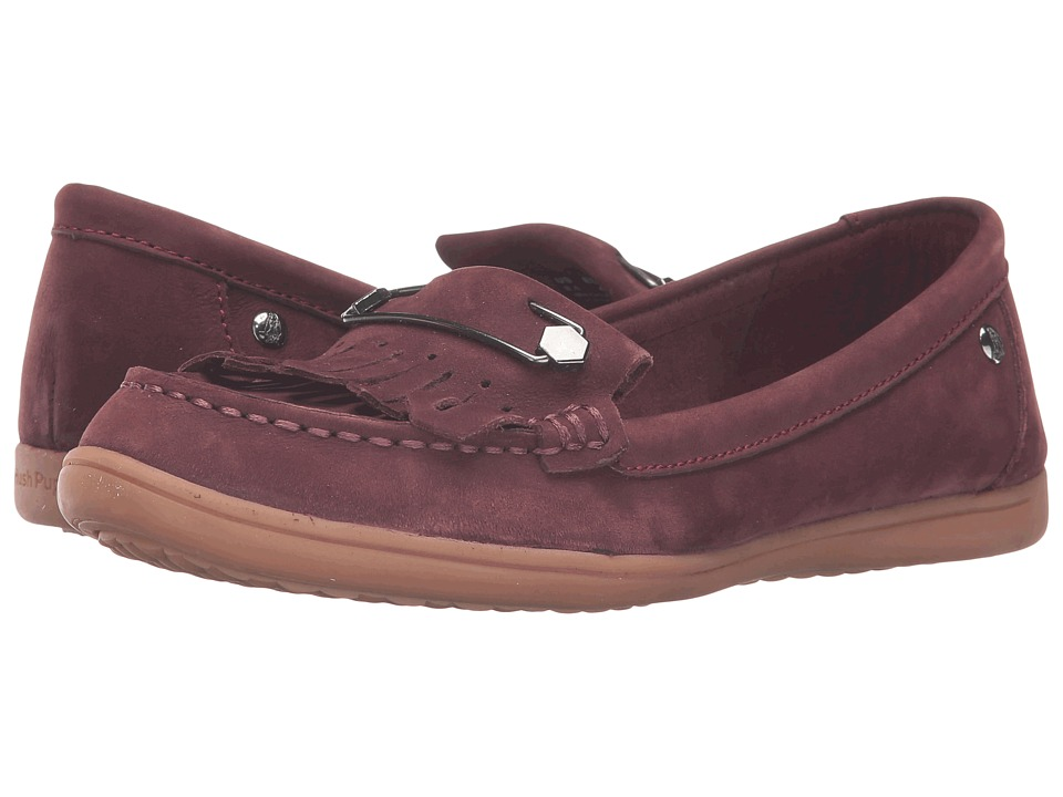 Hush Puppies - Rylie Claudine (Wine Nubuck) Women