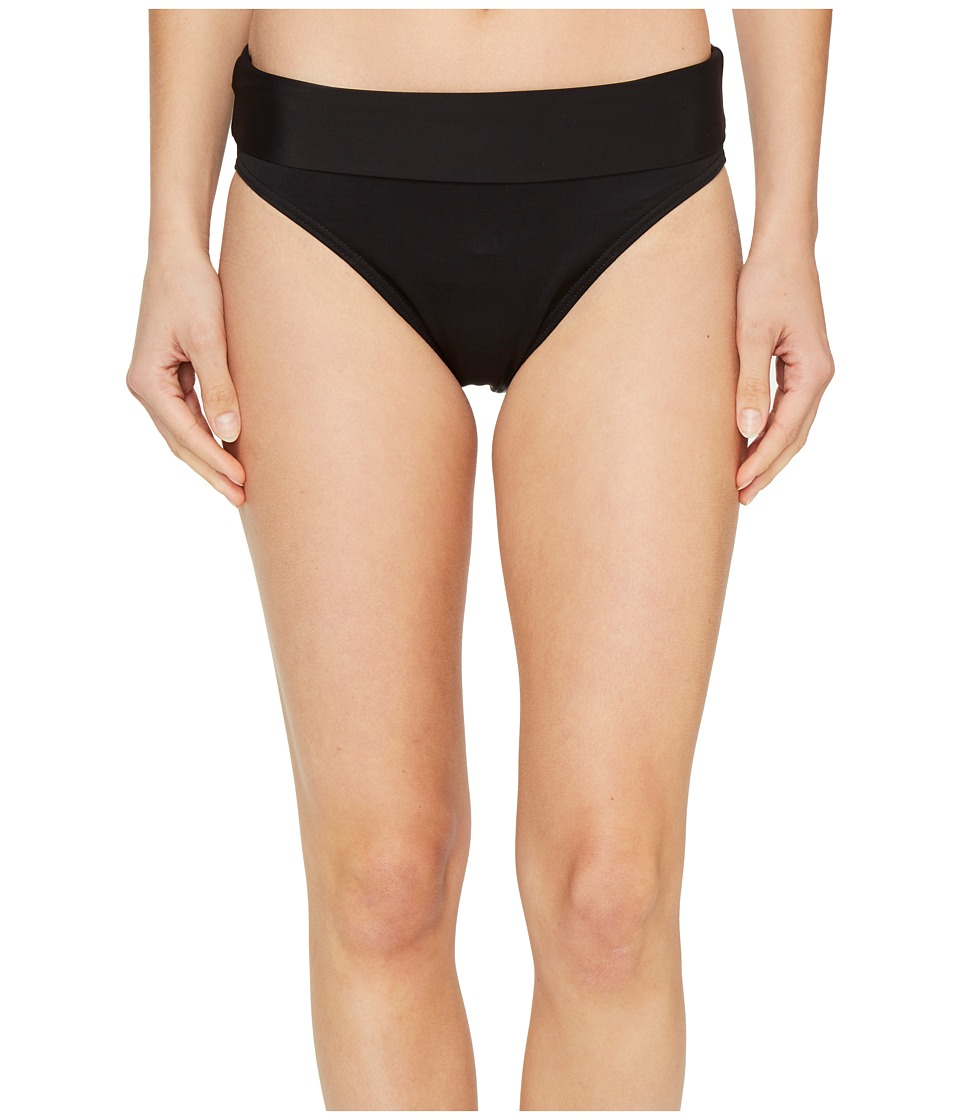Miraclesuit - Separate Fold-Over Pants Bottom (Black) Women's Swimwear