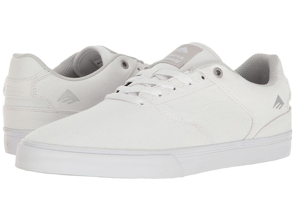 Emerica - The Reynolds Low Vulc (White) Men's Skate Shoes