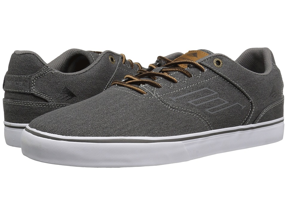 Emerica - The Reynolds Low Vulc (Black Wash) Men's Skate Shoes