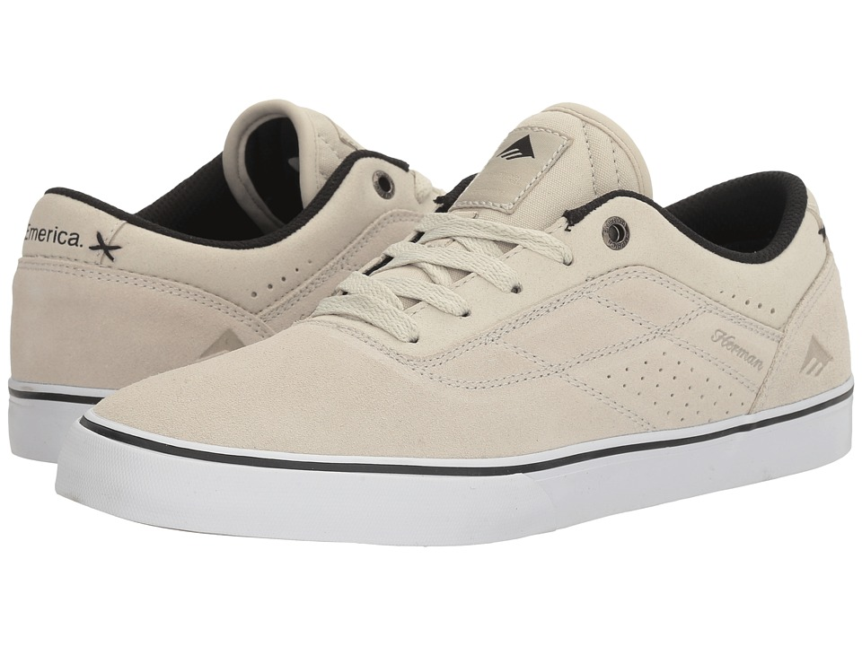 Emerica - The Herman G6 Vulc (White) Men's Skate Shoes