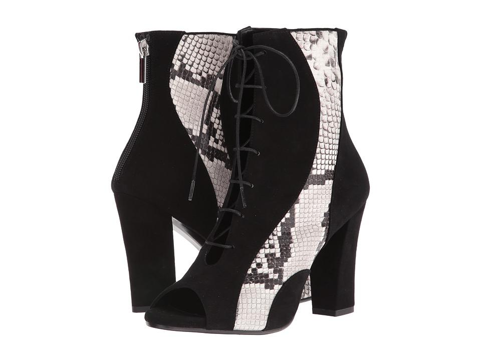 ASKA - Low Hutton (Black/Snake) Women's Boots