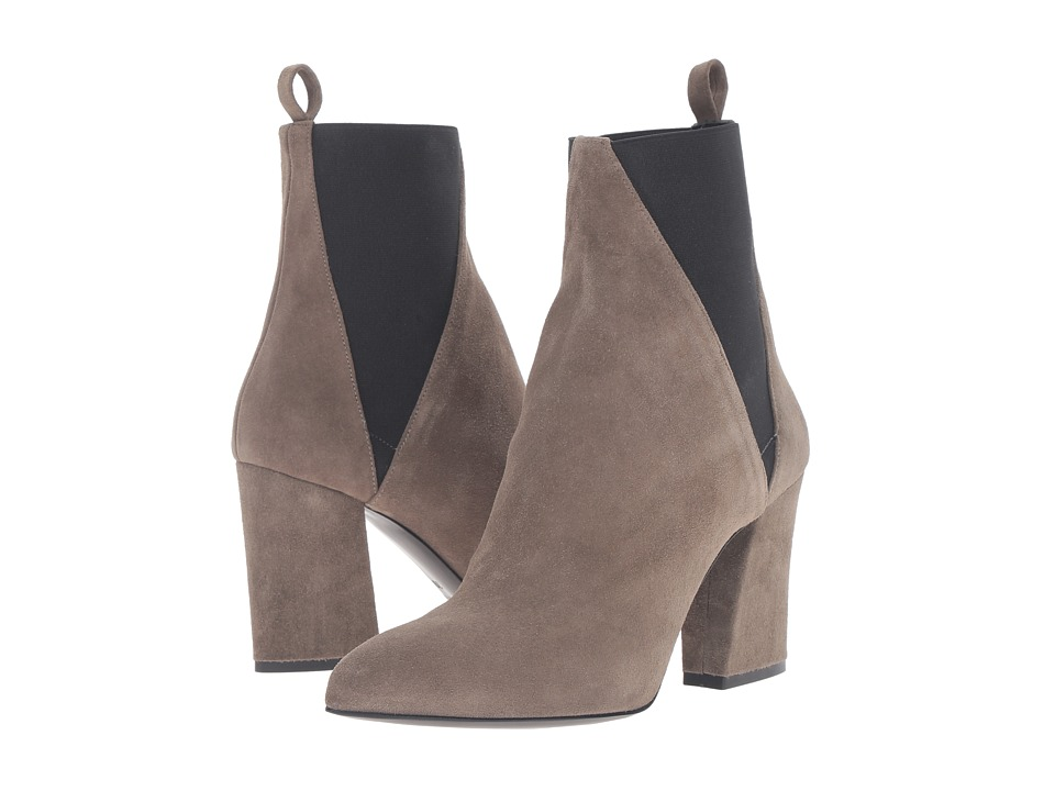 ASKA - Troy (Khaki Suede) Women's Boots