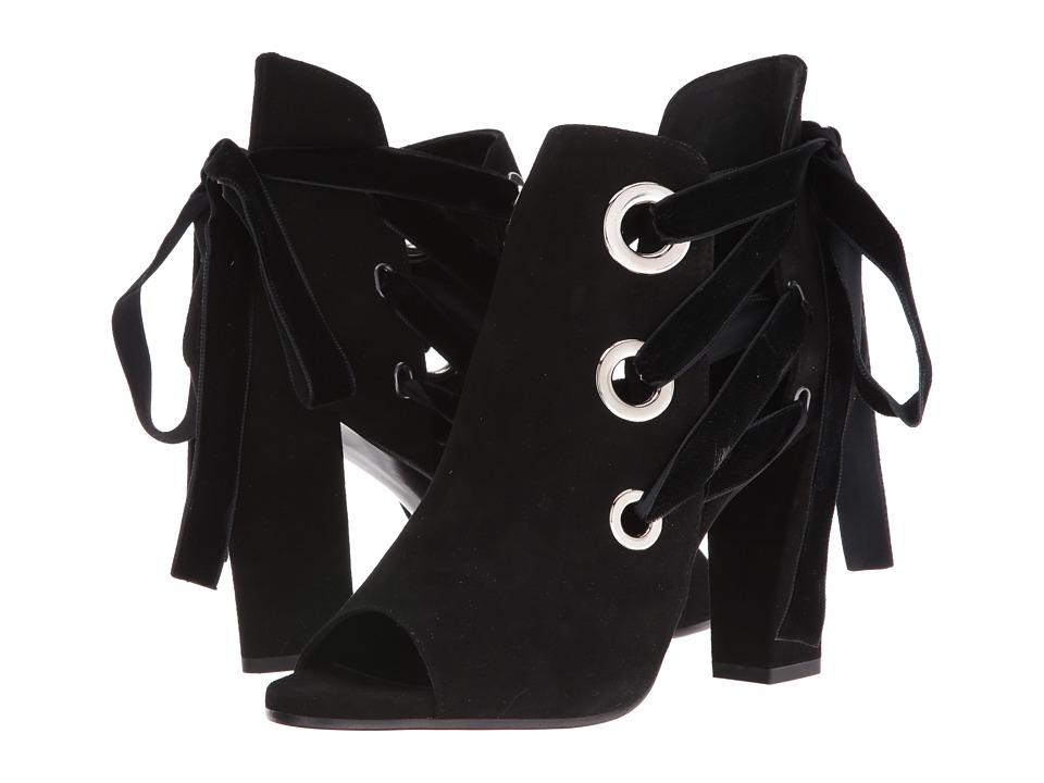 ASKA Honor (Black Suede) High Heels