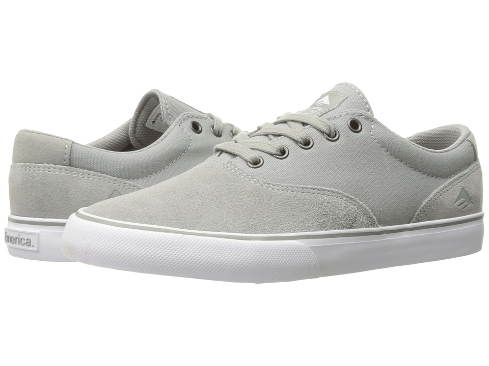 Emerica - The Provost Slim Vulc (Grey) Men's Skate Shoes