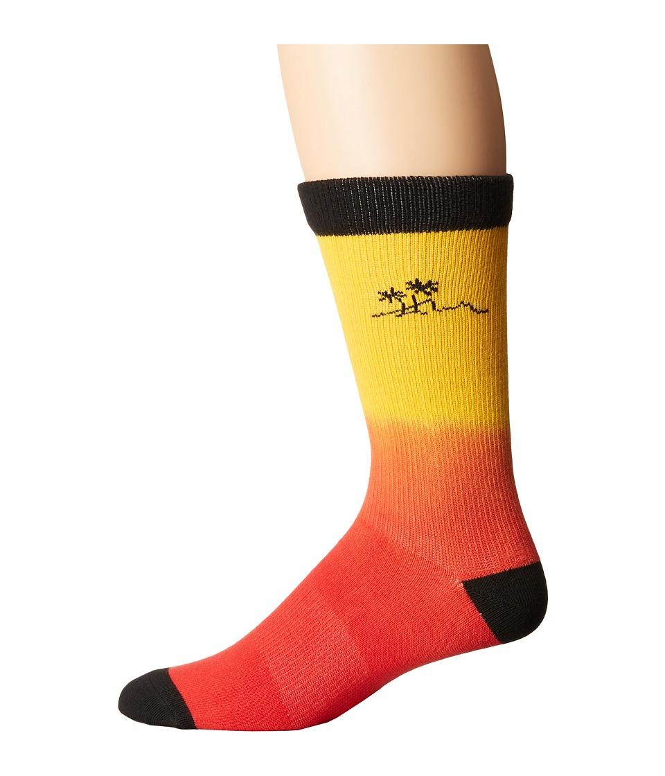 Richer Poorer - Shaka Athletic Socks (Red) Men's Crew Cut Socks Shoes