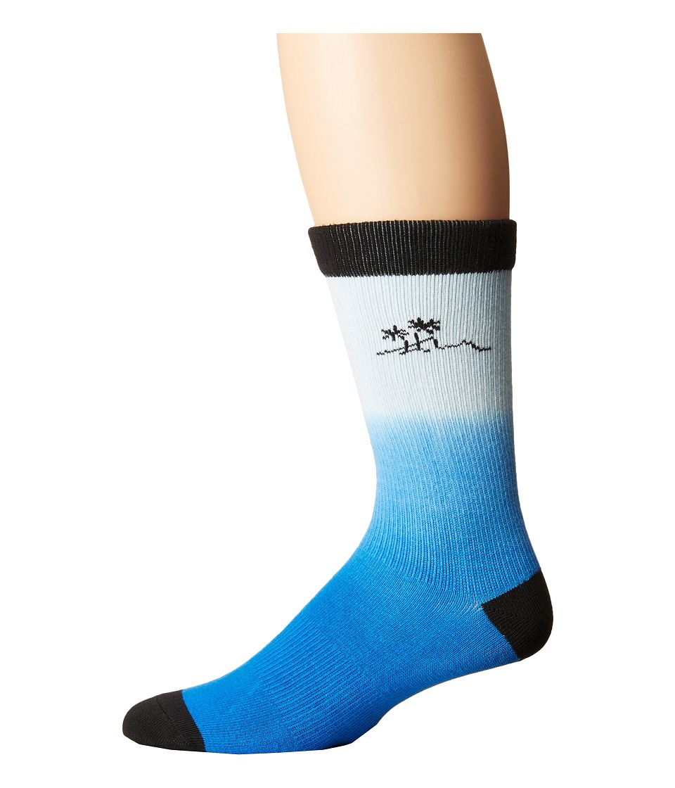 Richer Poorer - Shaka Athletic Socks (Blue) Men's Crew Cut Socks Shoes