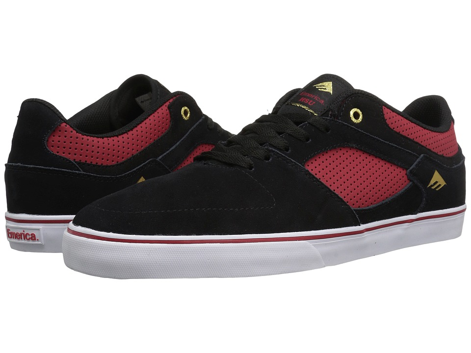 Emerica The Hsu Low Vulc (Black/Red) Men