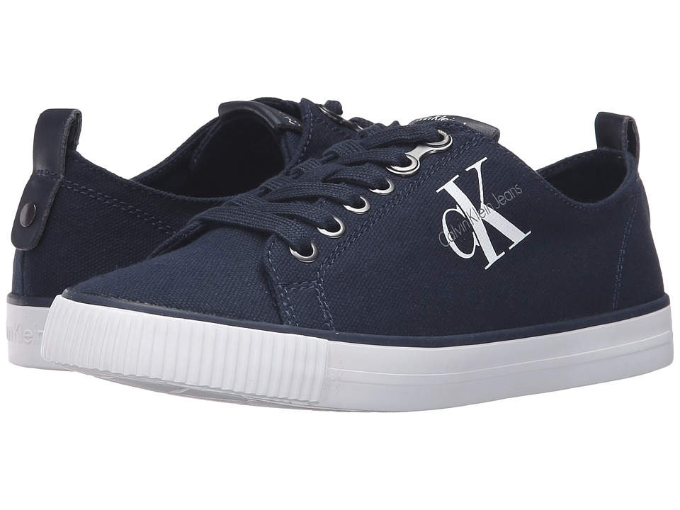 Calvin Klein - Dora (Navy Canvas) Women's Shoes