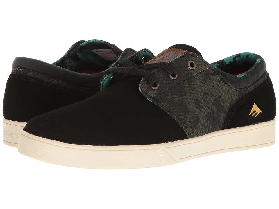 Emerica - Figueroa X Harsh Toke (Black/Green) Men's Skate Shoes