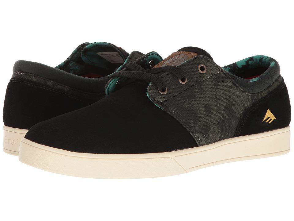 Emerica - Figueroa X Harsh Toke (Black/Green) Men's Skate Shoes