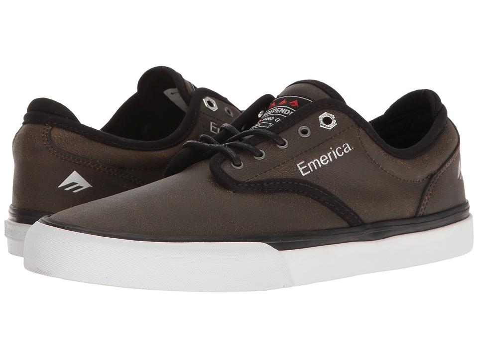 Emerica - Wino G6 X Indy (Brown/Black) Men's Skate Shoes