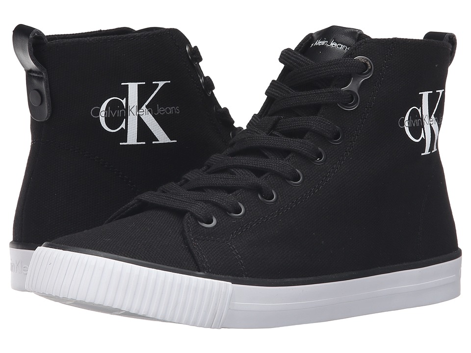 Calvin Klein - Dolores (Black Canvas) Women's Shoes