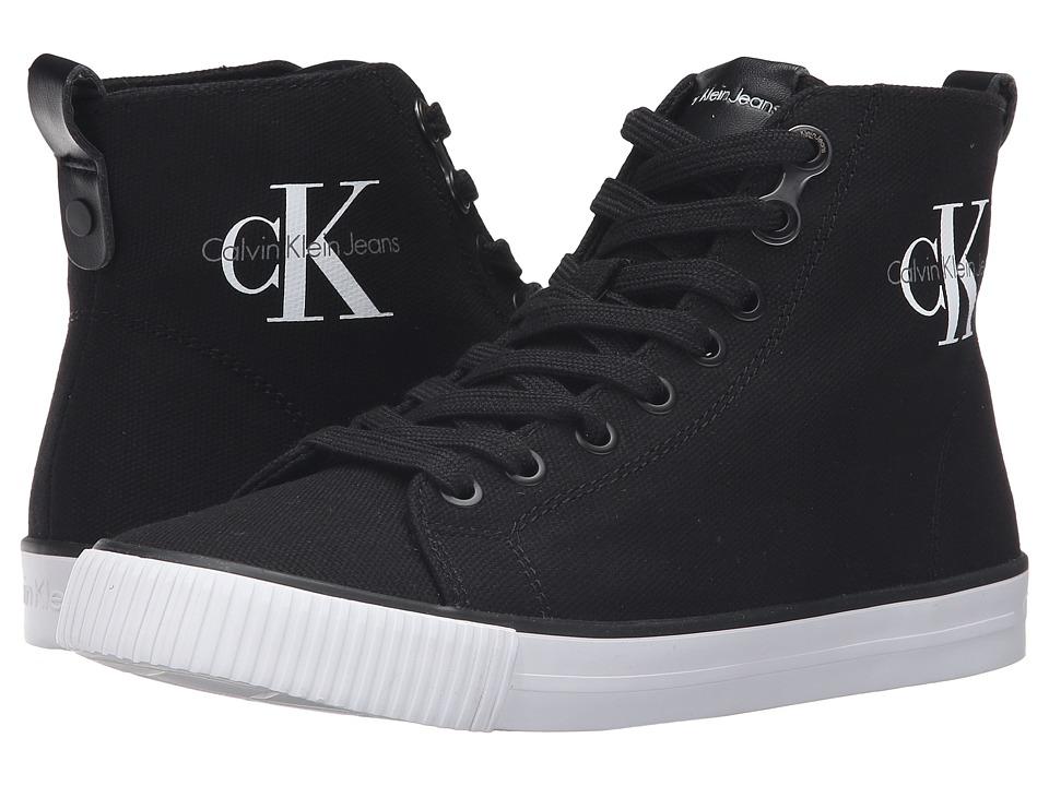 Calvin Klein - Dolores (Black Canvas) Women's Shoes