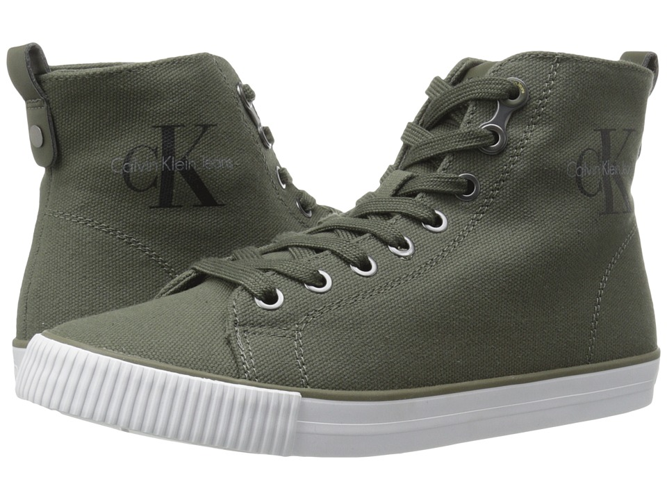 Calvin Klein - Dolores (Military Canvas) Women's Shoes