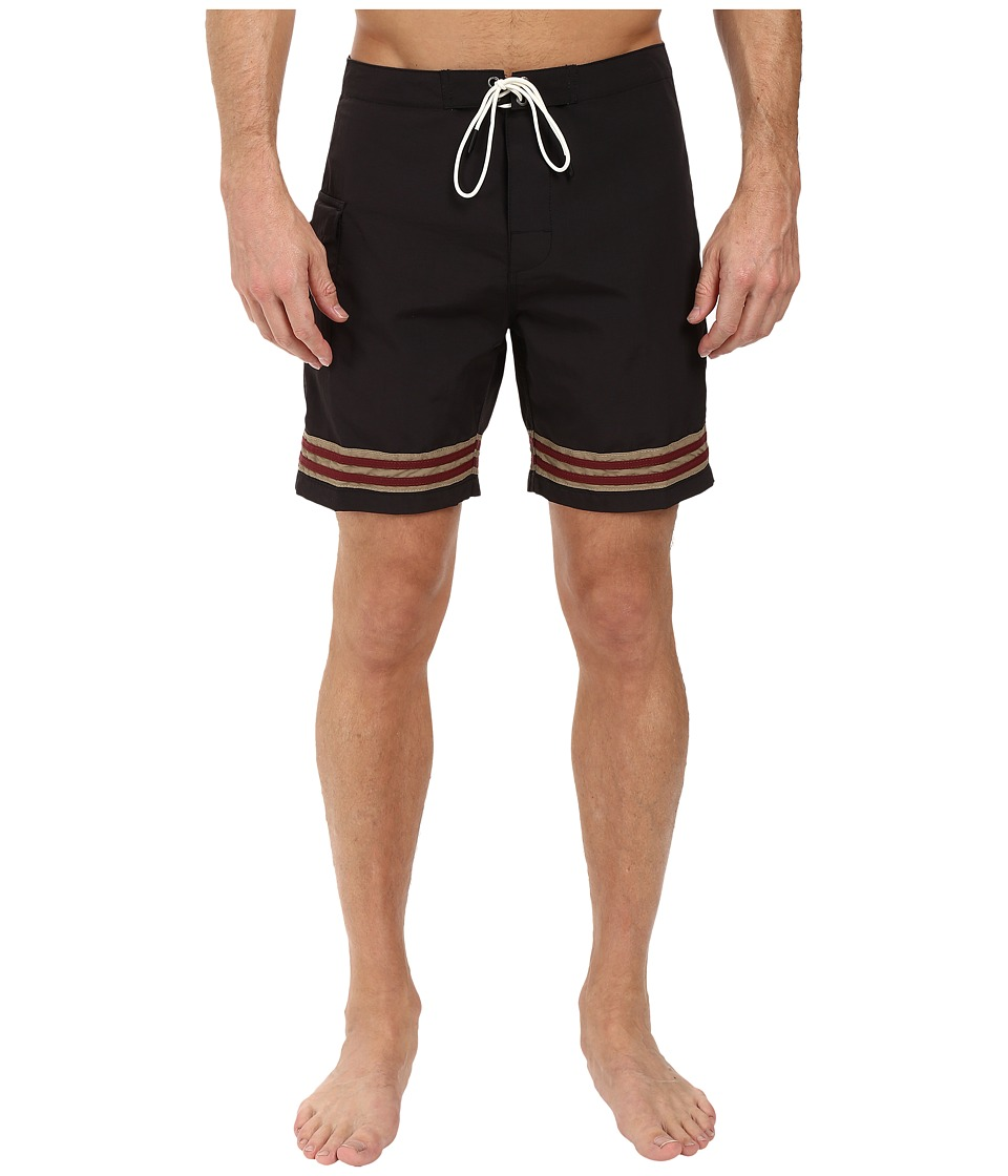 RVCA - Bonza Trunks (Carbon) Men's Swimwear