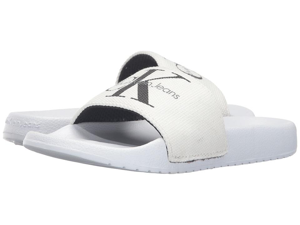 Calvin Klein - Chantal (White Canvas) Women's Wedge Shoes