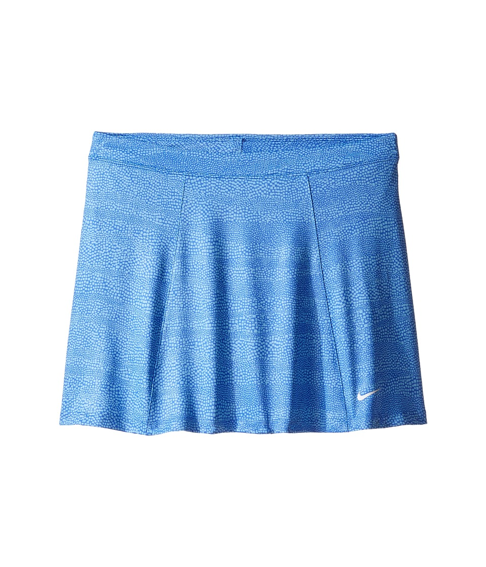 Nike Kids - Printed Skort (Little Kids/Big Kids) (Paramount Blue/University Blue/Metallic Silver) Girl's Skort
