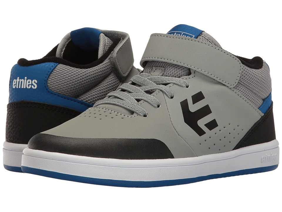 etnies Kids - Marana MT (Toddler/Little Kid/Big Kid) (Grey/Black/Blue) Boys Shoes