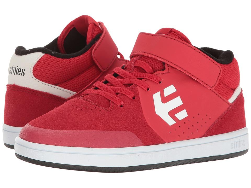 etnies Kids - Marana MT (Toddler/Little Kid/Big Kid) (Red/White/Black) Boys Shoes