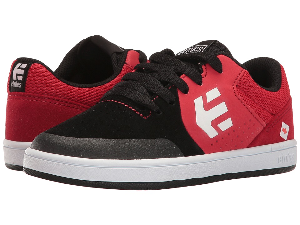 etnies Kids - Marana (Toddler/Little Kid/Big Kid) (Black/Red) Boys Shoes