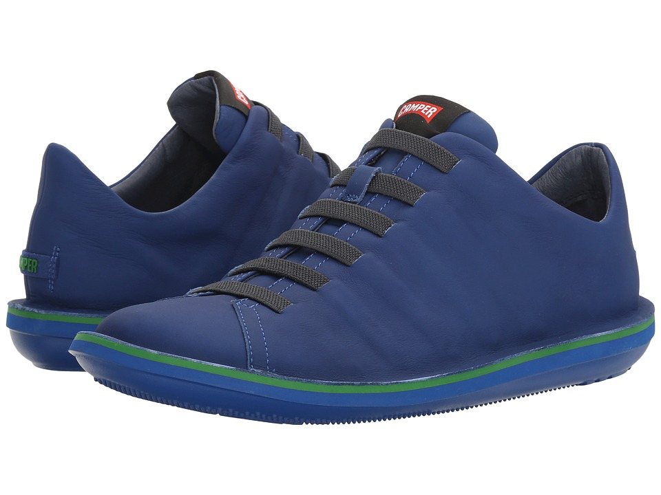 Camper - Beetle - 18751 (Medium Blue) Men's Lace up casual Shoes