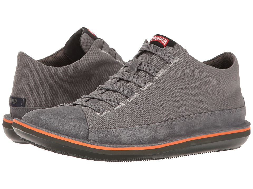 Camper - Beetle - 36791 (Medium Grey) Men's Lace up casual Shoes