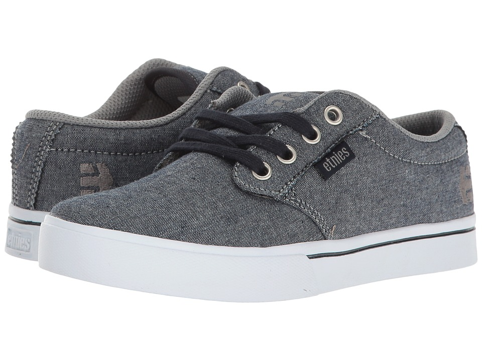 etnies Kids - Jameson 2 Eco (Toddler/Little Kid/Big Kid) (Navy/Grey/White) Boys Shoes