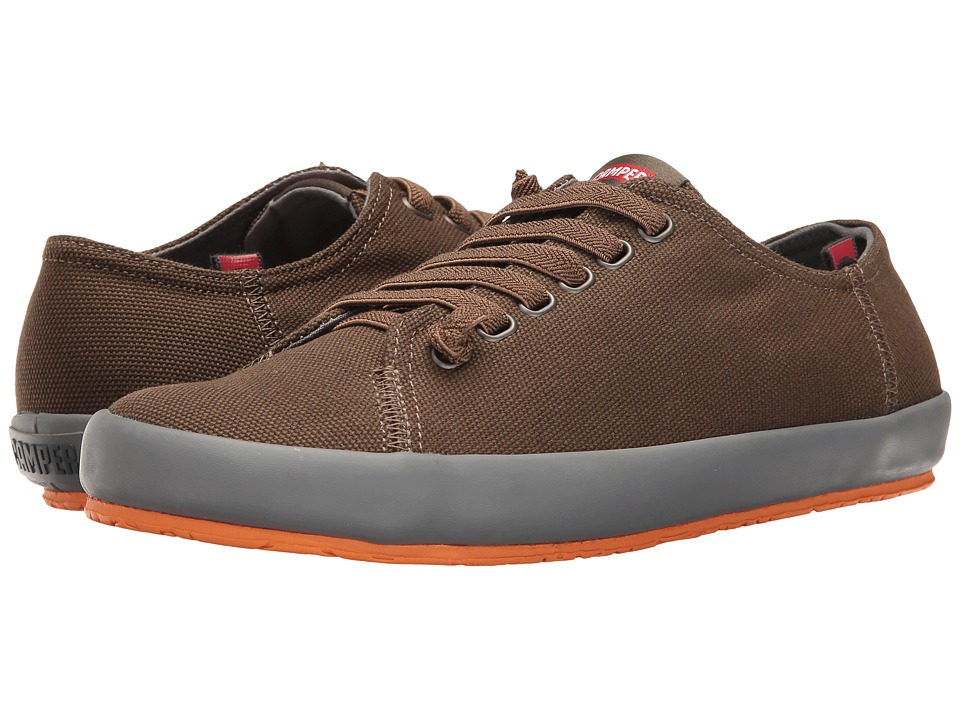 Camper - Peu Rambla Vulcanizado - 18869 (Olive) Men's Lace up casual Shoes