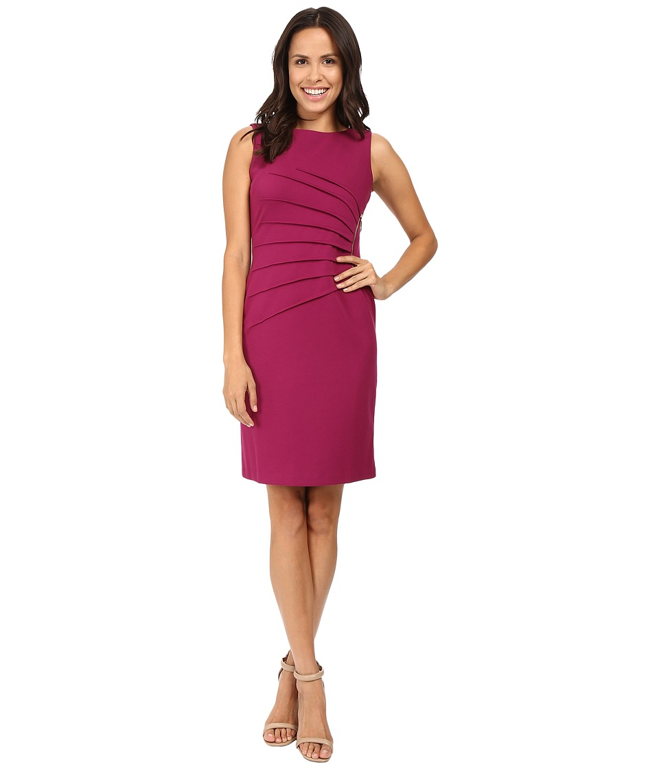 Ivanka Trump - Starburst Dress (Magenta) Women's Dress