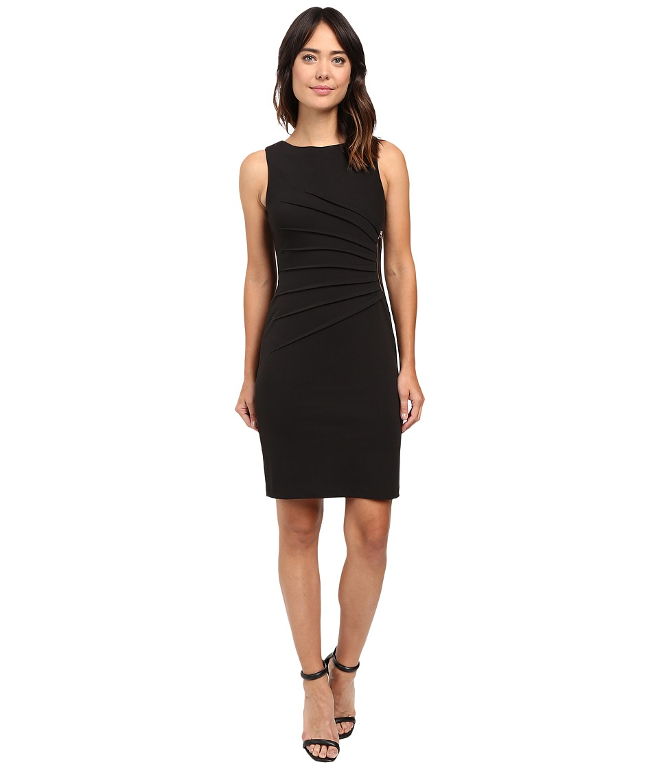 Ivanka Trump - Starburst Dress (Black) Women's Dress
