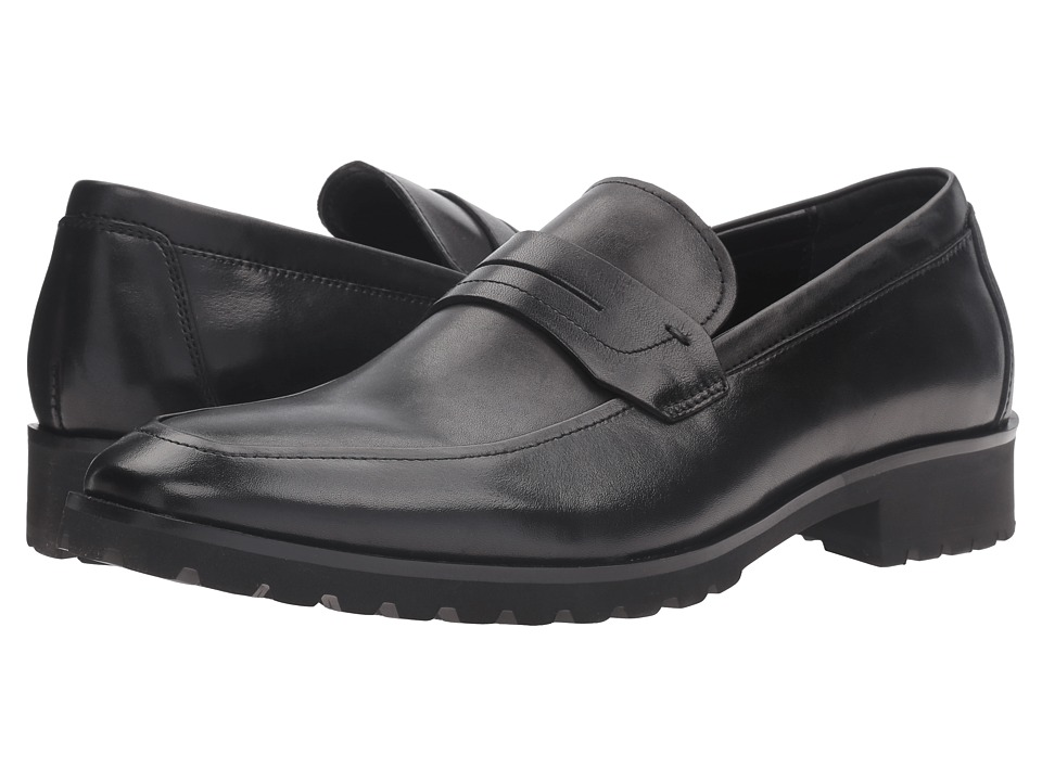Kenneth Cole Reaction - Soft-Ball (Black) Men's Slip on Shoes