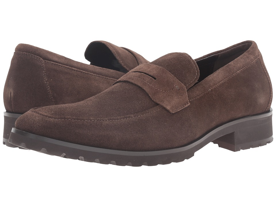 Kenneth Cole Reaction - Soft-Ball (Dark Taupe) Men's Slip on Shoes