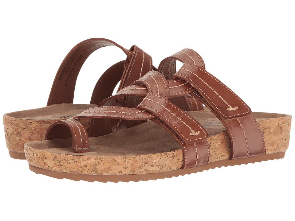 Walking Cradles - Panama (Luggage Soft Antanado) Women's Clog/Mule Shoes